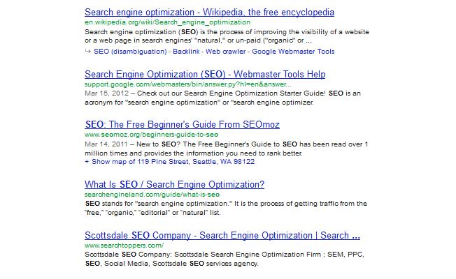 Сео оптимизация сайта самостоятельно 12