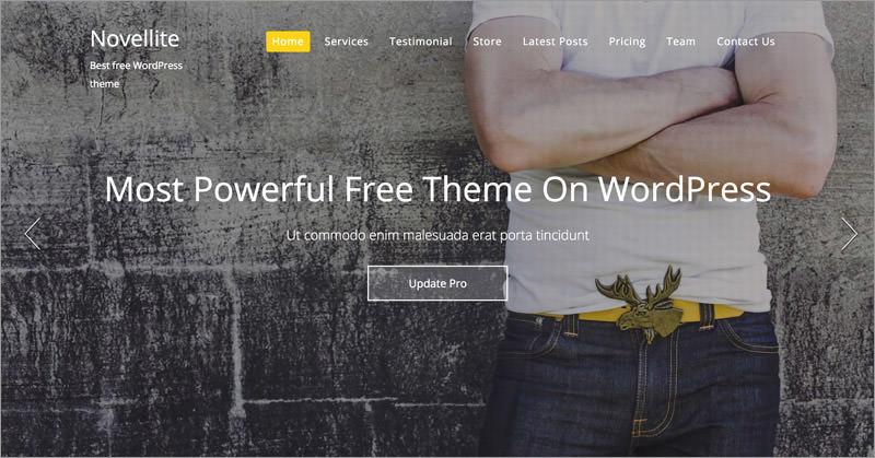 10 бесплатных многоцелевых тем WordPress 7