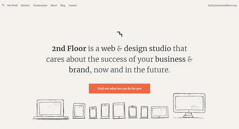 25 эффективных веб-сайтов-портфолио веб-дизайна 6