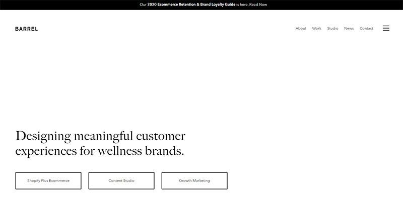 25 эффективных веб-сайтов-портфолио веб-дизайна 8