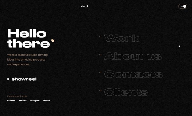25 эффективных веб-сайтов-портфолио веб-дизайна 25