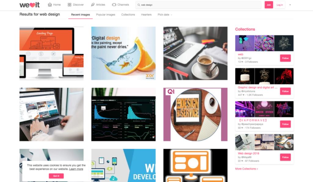 18 удивительных мест, где можно найти вдохновение для веб-дизайна 15