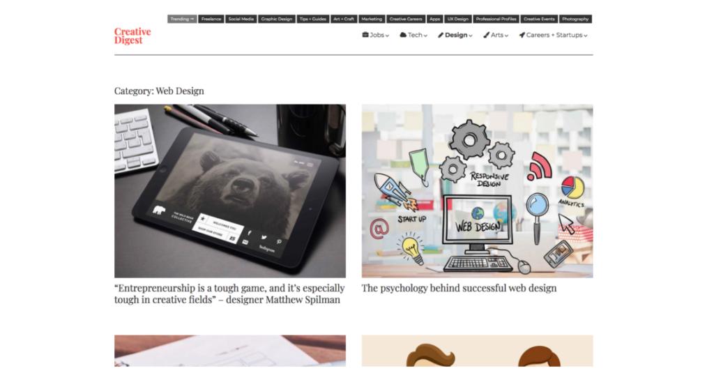 18 удивительных мест, где можно найти вдохновение для веб-дизайна 13