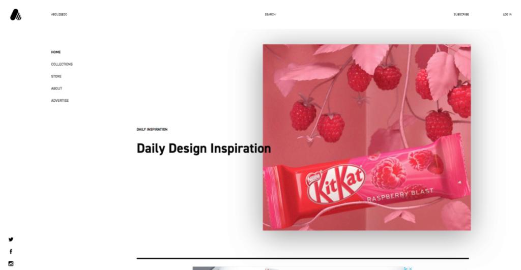 18 удивительных мест, где можно найти вдохновение для веб-дизайна 9