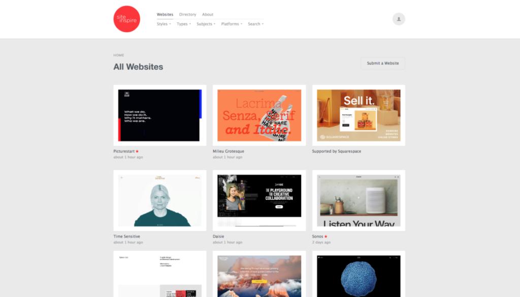 18 удивительных мест, где можно найти вдохновение для веб-дизайна 3