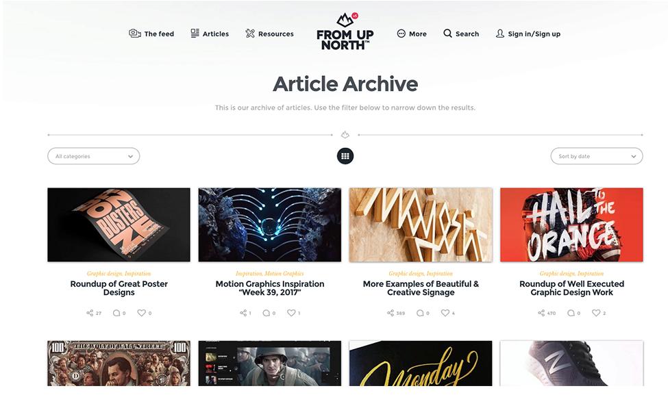 18 удивительных мест, где можно найти вдохновение для веб-дизайна 7