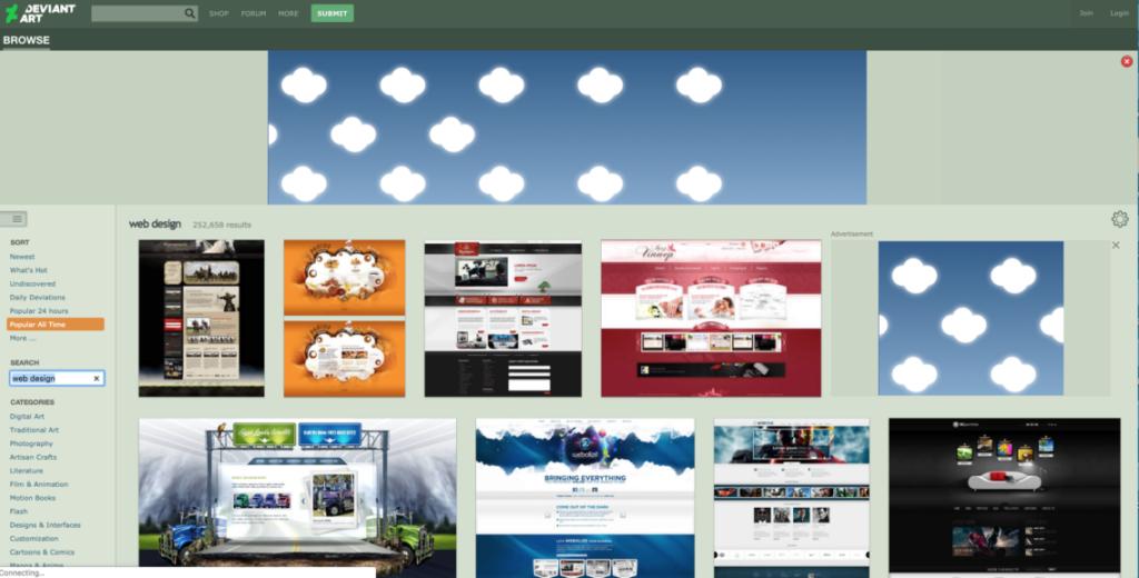 18 удивительных мест, где можно найти вдохновение для веб-дизайна 14