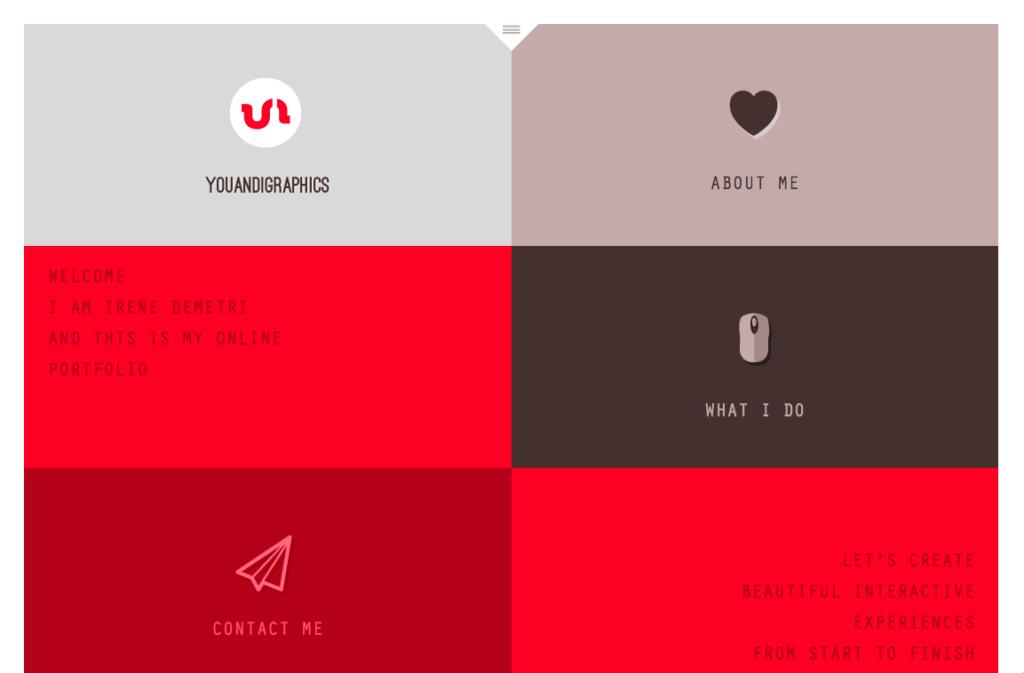 7 невероятных примеров портфолио веб-дизайна (и главные советы) 3