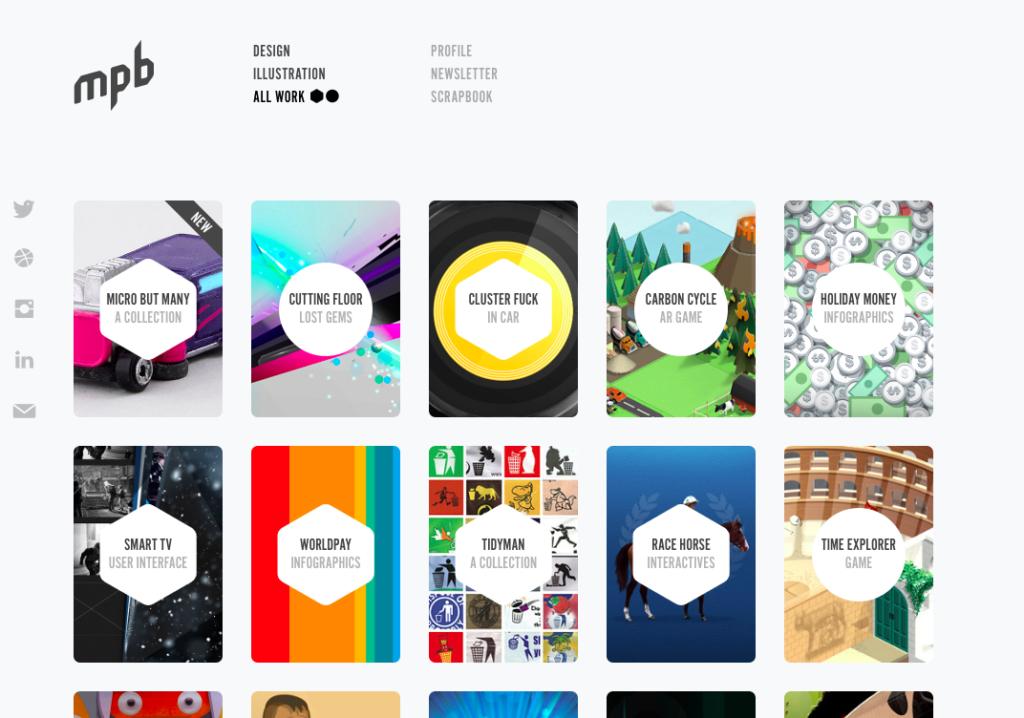 7 невероятных примеров портфолио веб-дизайна (и главные советы) 8