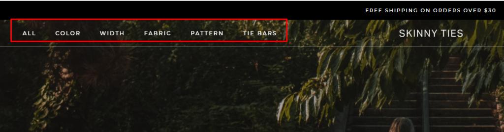 7 примеров навигации по сайту, которые вдохновят вас на создание убийственной структуры 3