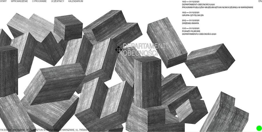 Брутализм в веб-дизайне