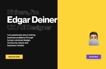 примеры портфолио веб дизайнера