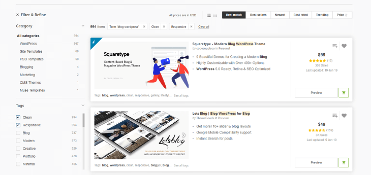 создание сайта на wordpress цена