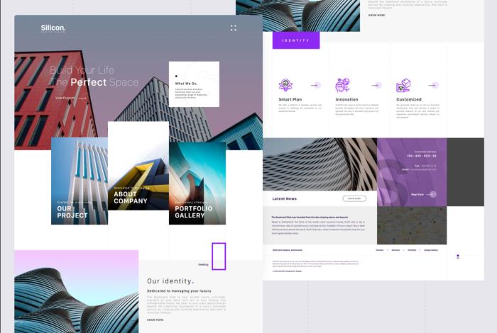 тренды веб дизайна 2021