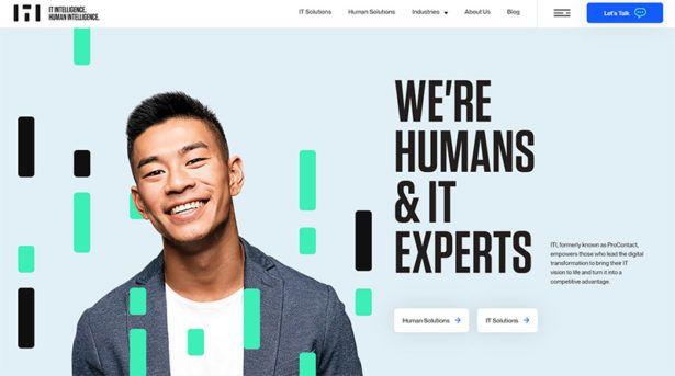 корпоративные сайты примеры